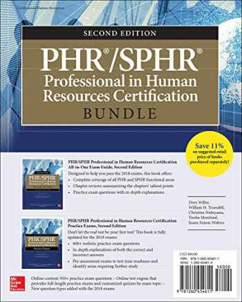 9781260454611-1260454614-PHR/SPHR Professional in Human Resources Certification Bundle, Second Edition