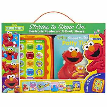 9781503745704-1503745708-Sesame Street - Stories to Grow On Me Reader Jr Electronic Reader and 8 Sound Book Library - PI Kids