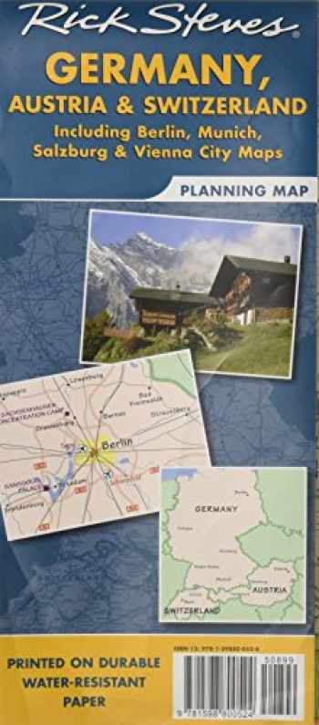 9781598800524-1598800523-Rick Steves Germany, Austria & Switzerland Planning Map: Including Berlin, Munich, Salzburg & Vienna City Maps