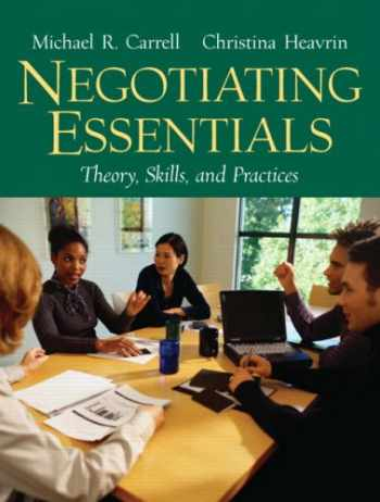 9780131868663-0131868667-Negotiating Essentials: Theory, Skills, and Practices