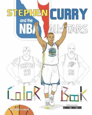 9781539033004-1539033007-Stephen Curry and the NBA All Stars: Basketball Coloring Book for Kids