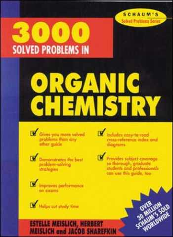 9780070564244-0070564248-3000 Solved Problems in Organic Chemistry (Schaum's Solved Problems)