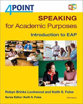 9780472036707-047203670X-4 Point Speaking for Academic Purposes: Introduction to EAP