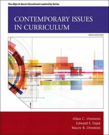 9780133259971-0133259978-Contemporary Issues in Curriculum (Allyn & Bacon Educational Leadership)