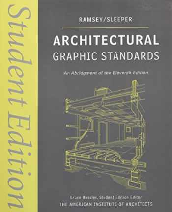 9780470085462-0470085460-Architectural Graphic Standards: Student Edition
