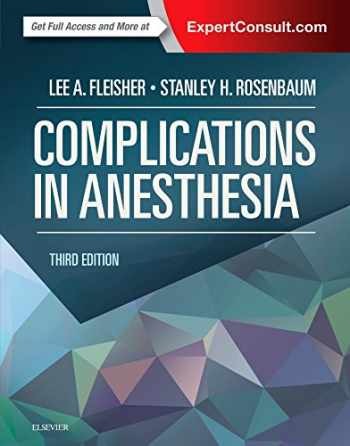 9781455704118-1455704113-Complications in Anesthesia