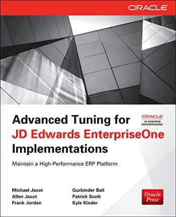 9780071798549-0071798544-Advanced Tuning for JD Edwards EnterpriseOne Implementations (Oracle Press)