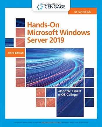 9780357436158-0357436156-Hands-On Microsoft Windows Server 2019 (MindTap Course List)