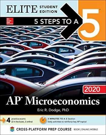 9781260455830-1260455831-5 Steps to a 5: AP Microeconomics 2020 Elite Student Edition