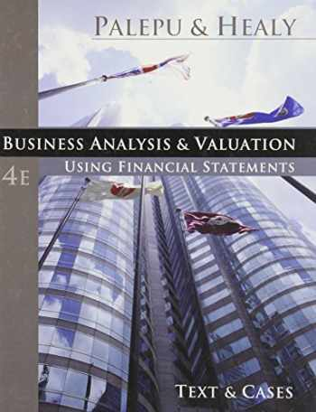9780324302868-032430286X-Business Analysis and Valuation: Using Financial Statements, Text and Cases (with Thomson ONE Access)