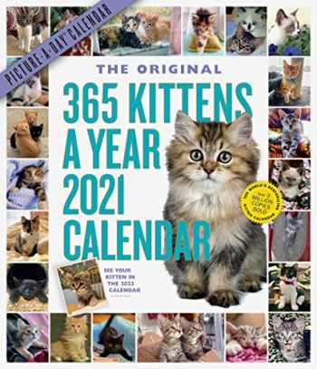 9781523509010-1523509015-365 Kittens-A-Year Picture-A-Day Wall Calendar 2021