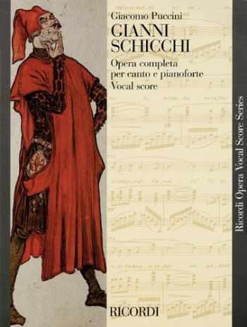 9781480305113-1480305111-Gianni Schicchi: Opera Vocal Score (Ricordi Opera Vocal Score)