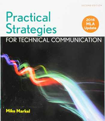 9781319143138-131914313X-Practical Strategies for Technical Communication with 2016 MLA Update