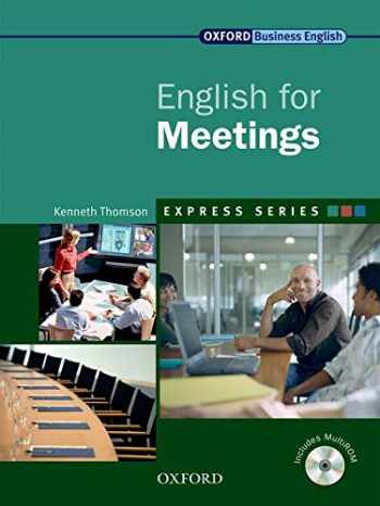 9780194579339-0194579336-English for Meetings (Express Series)