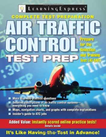 9781576856659-1576856658-Air Traffic Control Test Prep (Air Traffic Control Test Preparation)