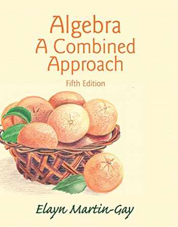 9780321977533-032197753X-Algebra: A Combined Approach (5th Edition)
