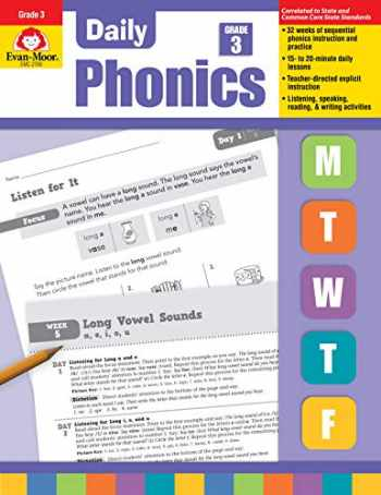 9781609634438-1609634438-Daily Phonics, Grade 3 - Teacher's Edition