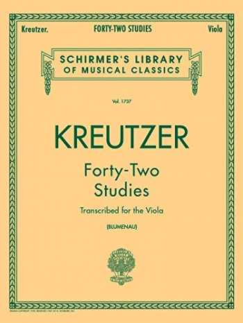 9780793554539-0793554535-42 Studies: Transcribed for Viola (Schirmer's Library of Musical Classics)