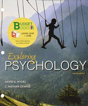 9781464154089-1464154082-Loose-leaf Version for Exploring Psychology