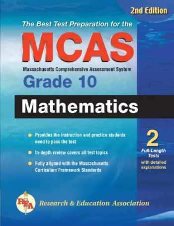 9780738604411-0738604410-MCAS Mathematics Grade 10 (Massachusetts MCAS Test Preparation)