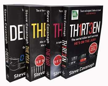 9789123820610-9123820616-Steve Cavanagh The Eddie Flynn Series 4 Books Collection Set ( TH1RT3EN, The Liar, The Plea, The Defence)