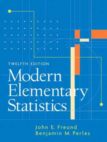 9780131874398-013187439X-Modern Elementary Statistics (12th Edition)