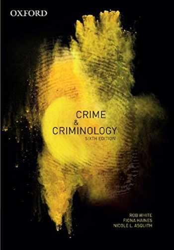9780190307301-0190307307-Crime & Criminology
