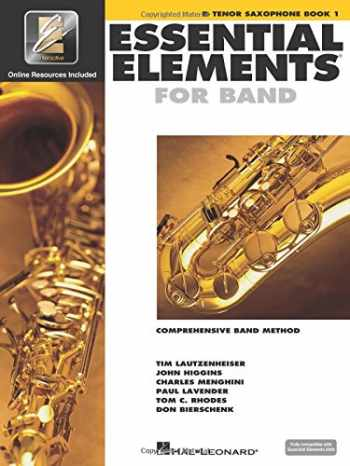 9780634003189-0634003186-Essential Elements for Band - Bb Tenor Saxophone Book 1 with EEi