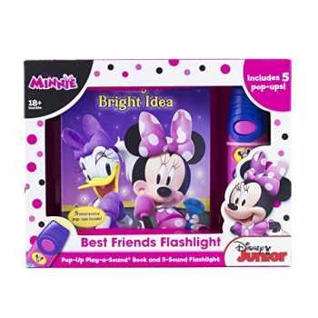 9781450874403-1450874401-Disney Minnie Mouse - Best Friends Pop-Up Sound Board Book and Sound Flashlight Toy - PI Kids (Play-A-Sound)