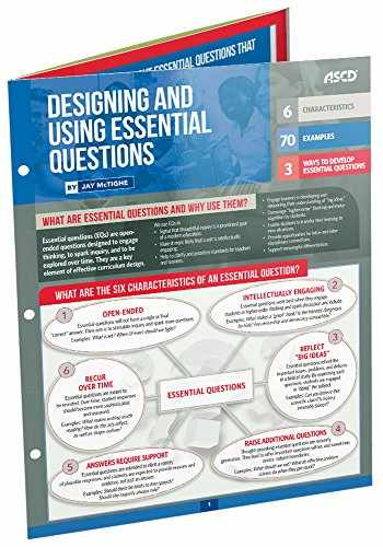 9781416624486-1416624481-Designing and Using Essential Questions (Quick Reference Guide)