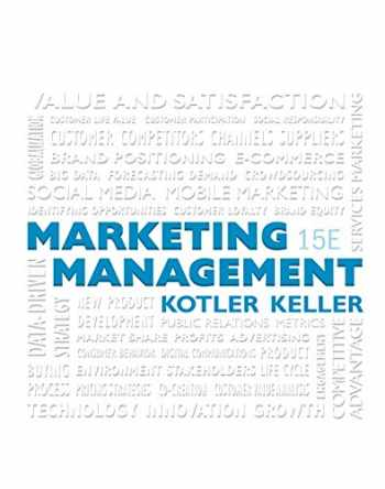 9780134058498-0134058496-Marketing Management Plus MyLab Marketing with Pearson eText -- Access Card Package (15th Edition)
