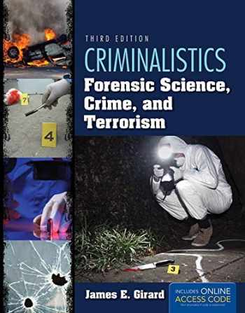 9781284037036-1284037037-Criminalistics: Forensic Science, Crime, and Terrorism