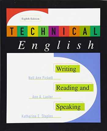 9780321003522-0321003527-Technical English: Writing, Reading and Speaking (8th Edition)