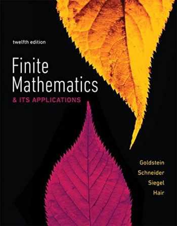 9780134437767-0134437764-Finite Mathematics & Its Applications (12th Edition)