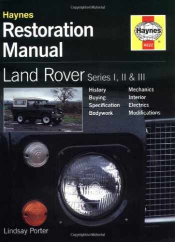 9781859606223-1859606229-Land Rover Series I, II & III Restoration Manual