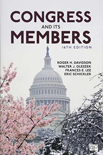 9781506369730-1506369731-Congress and Its Members (Sixteenth Edition)