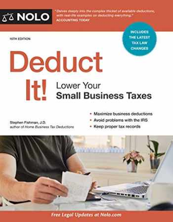 9781413326819-1413326811-Deduct It!: Lower Your Small Business Taxes