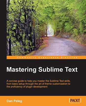 9781849698429-1849698422-Mastering Sublime Text