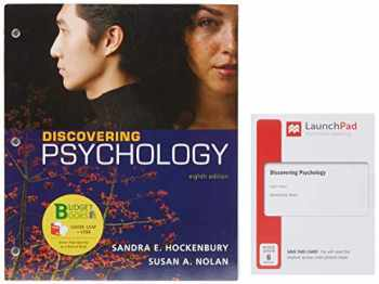 9781319243067-1319243061-Loose-leaf Version for Discovering Psychology & LaunchPad for Discovering Psychology (Six Months Access)