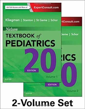 9781455775668-1455775665-Nelson Textbook of Pediatrics, 2-Volume Set