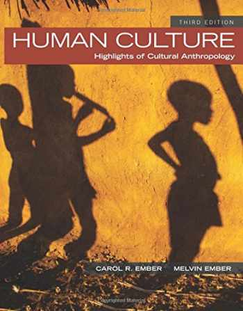 9780205957231-0205957234-Human Culture: Highlights of Cultural Anthropology (3rd Edition)