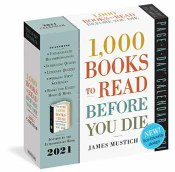 9781523509782-1523509783-1,000 Books to Read Before You Die Page-A-Day Calendar 2021