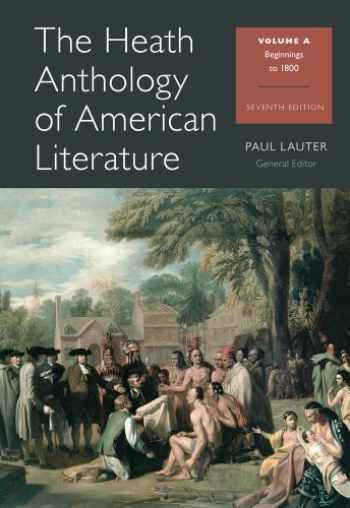 9781133310228-1133310222-The Heath Anthology of American Literature: Beginnings to 1800, Volume A