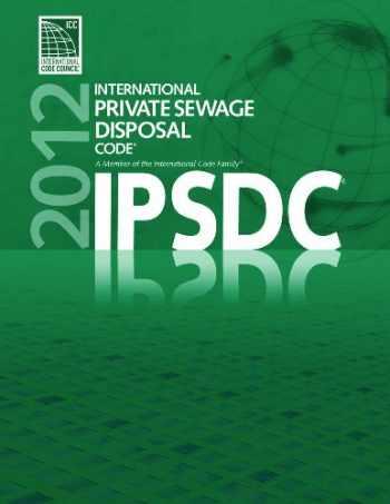 9781609830557-1609830555-2012 International Private Sewage Disposal Code (International Code Council Series)