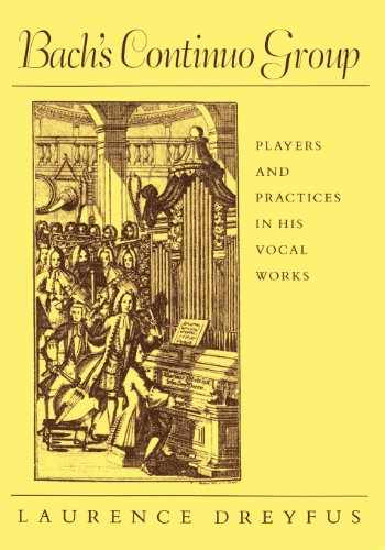 9780674060302-067406030X-Bach's Continuo Group: Players and Practices in His Vocal Works (Studies in the History of Music)