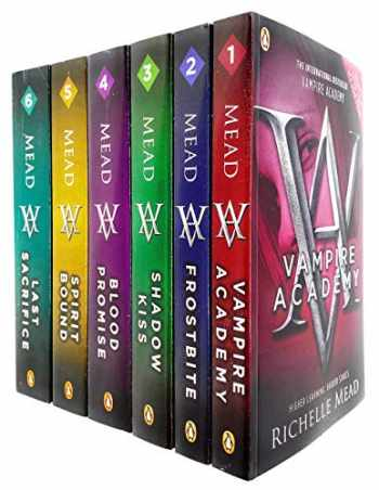 9780241451038-0241451035-Vampire Academy Series Books 1 - 6 Collection Set by Richelle Mead (Vampire Academy, Frostbite, Shadow Kiss, Blood Promise, Spirit Bound & Last Sacrifice)