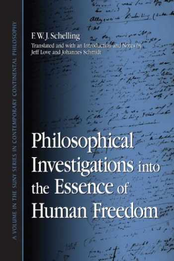 9780791468746-0791468747-Philosophical Investigations into the Essence of Human Freedom (Suny Series in Contemporary Continental Philosophy)