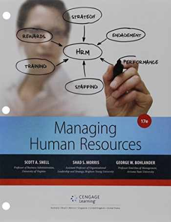 9781305617308-1305617304-Bundle: Managing for Human Resources, Loose-leaf Version, 17th + MindTap Management, 1 term (6 months) Printed Access Card