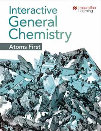 9781319263706-1319263704-SaplingPlus for Interactive General Chemistry Atoms First (Single-Term Access)