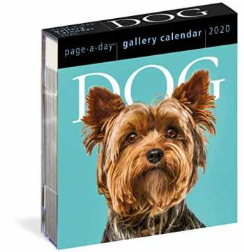9781523507047-1523507047-Dog Page-A-Day Gallery Calendar 2020